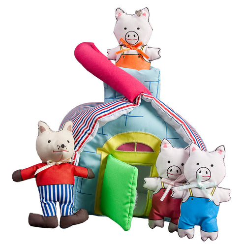 3 Li'l Pigs Playhouse SSC FO4387