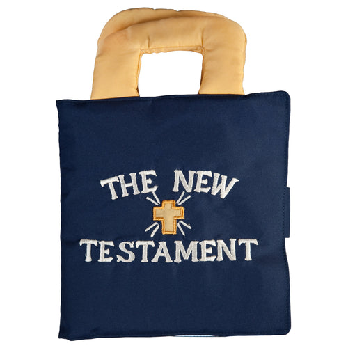 New Testament Blue Playbook FO4855 BL