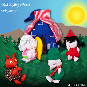 Red Riding Hood Playhouse FO 5764