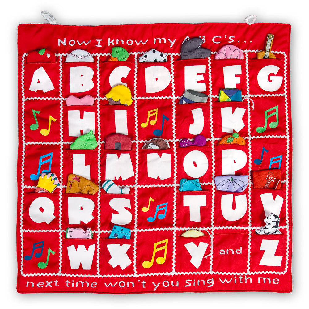 I Know My ABC's Red Wall Hanging FO7131 SSC RD