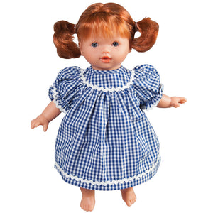 "Hailey Blue Eye 10"" Naked Doll 42001 RD/BL"