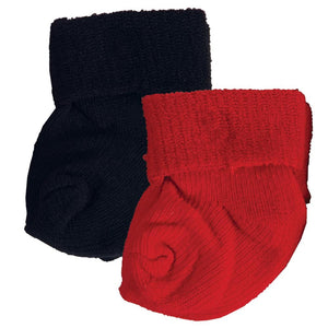 Red and Blue Doll Sock Set SK106