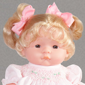 "Suzie Blond & Brown Eyes 10"" Doll Predressed 34000 BLBR_3976DD"