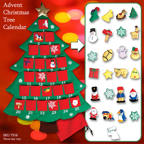 Christmas Tree Advent Calendar 7516