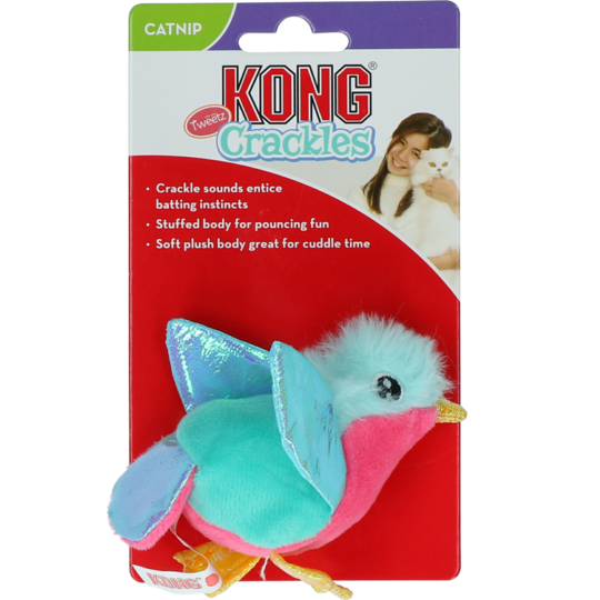 Kong Crackles Tweetz Bird EU