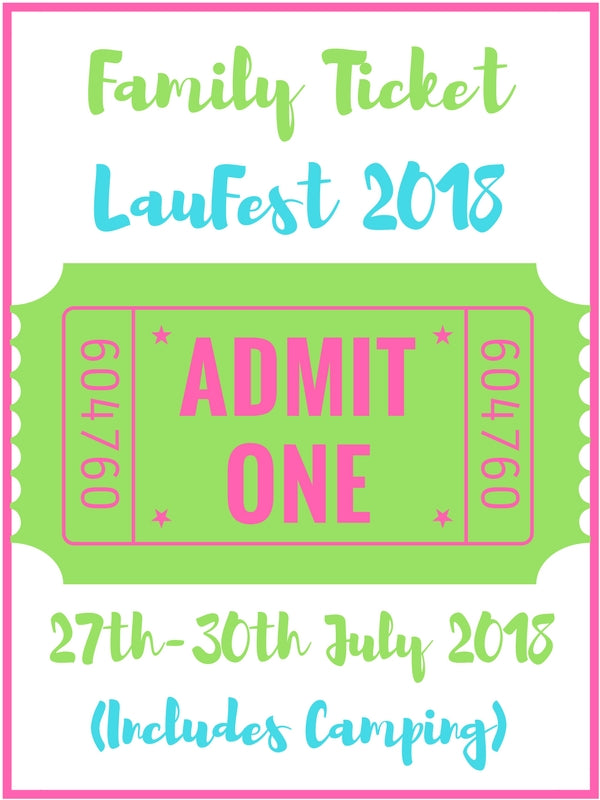 Family of Four Ticket to LauFest