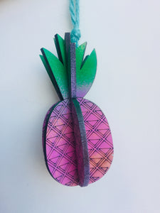 Laser Cut 3D Pineapple