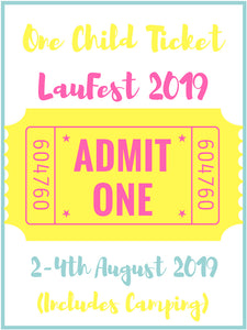 One Child Ticket- LauFest 2019