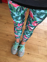 Flamingo running leggings
