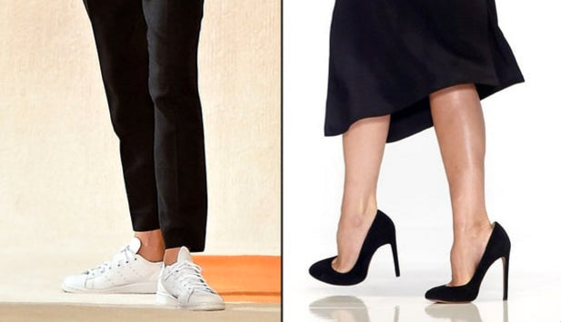 134719e7b83 Victoria Beckham Has Given Up Her Sky High Heels - Joan Oloff Shoes