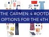 The Carmen: 4 #OOTD Options for the 4th