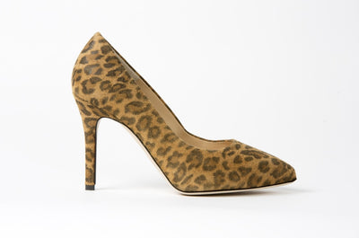 Jessica Leopard - Most Comfortable Shoes by Joan Oloff