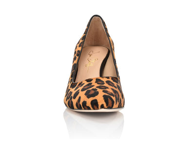 Riley Leopard Hair Calf