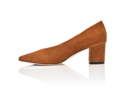 Claudette Autumn Kid Suede