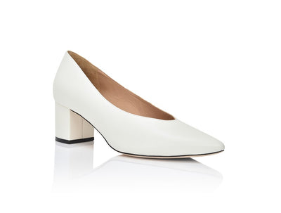 Claudette Winter White Lux Nappa