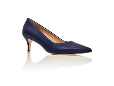 Callie Navy Nappa