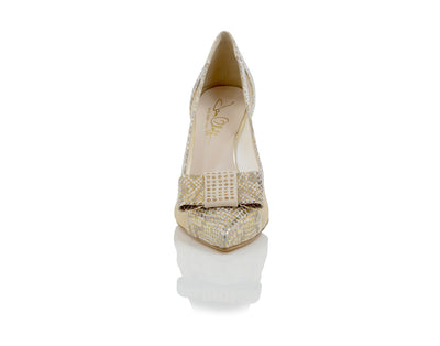 Sara Beige Shoes  - Most Comfortable Heels by Joan Oloff