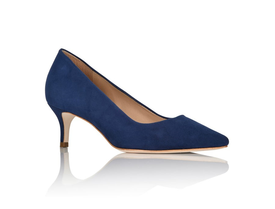 Callie Navy Suede