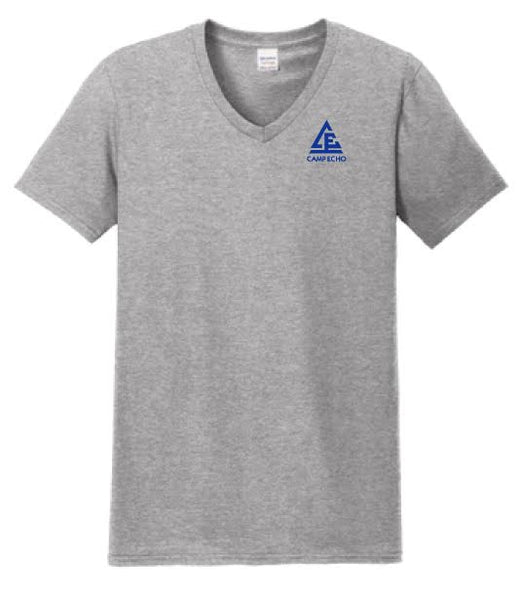 Uniform V-Neck - Grey