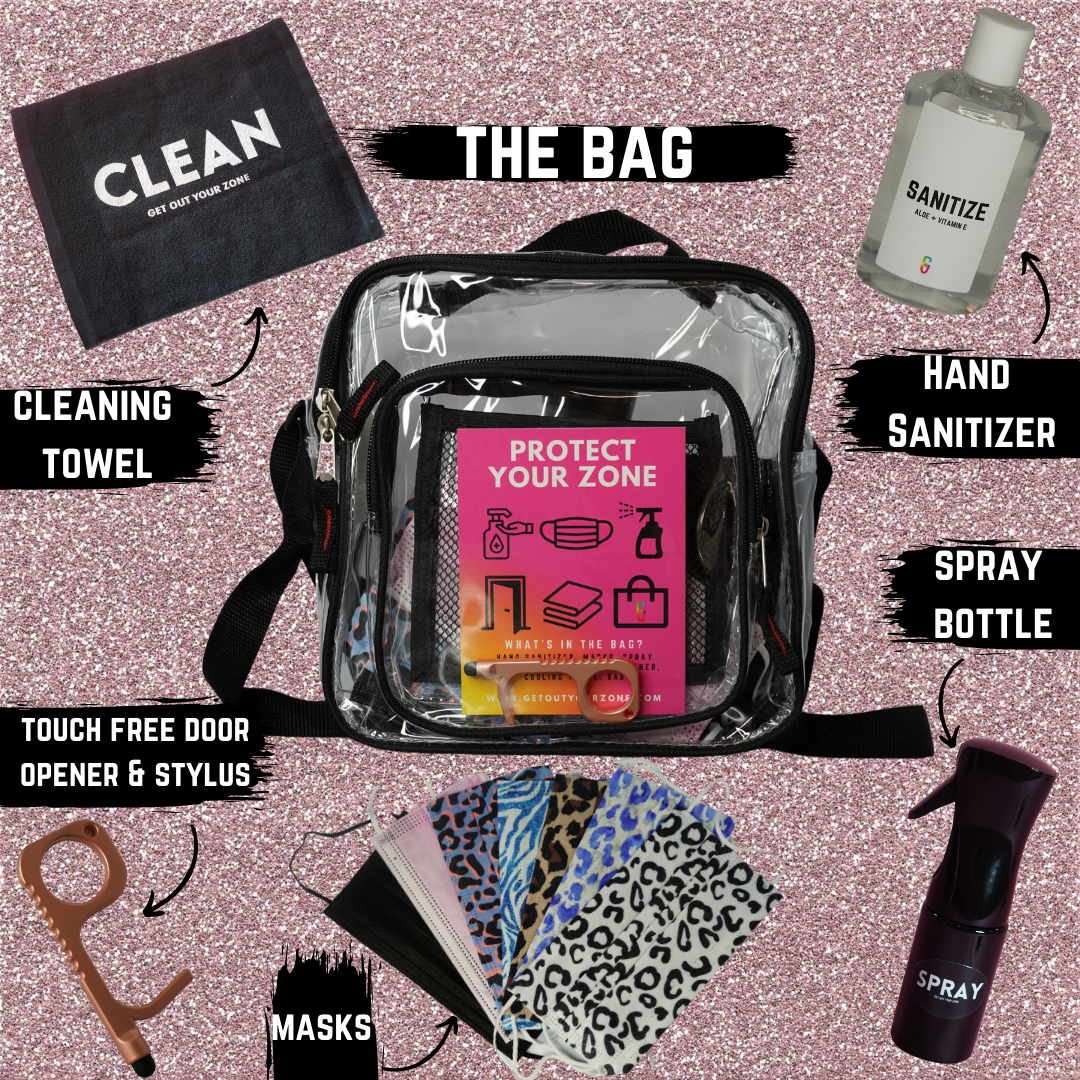 Stay Clean Bag - Get Out Your Zone