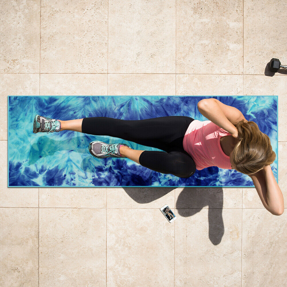 Yoga Mat Towel - Get Out Your Zone