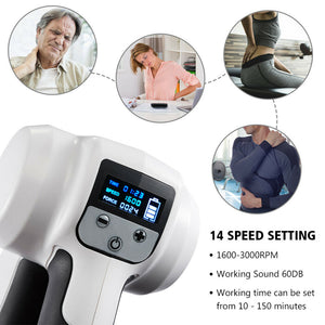 Massage Gun Percussion Deep Tissue Muscle Massage - Get Out Your Zone