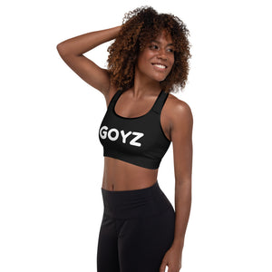 GOYZ Padded Sports Bra - Get Out Your Zone