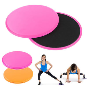 Core Slider Gliding Discs - Get Out Your Zone