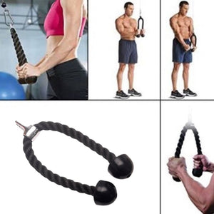 Tricep Rope Pull Down - Get Out Your Zone