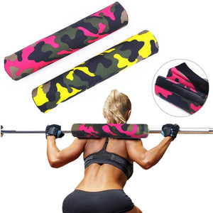 Fitness Barbell Pad For Gym Weight Lifting Thick Cushioned Squat Shoulder Barbell Mats Heavy Duty for Neck Shoulder Supplies - Get Out Your Zone