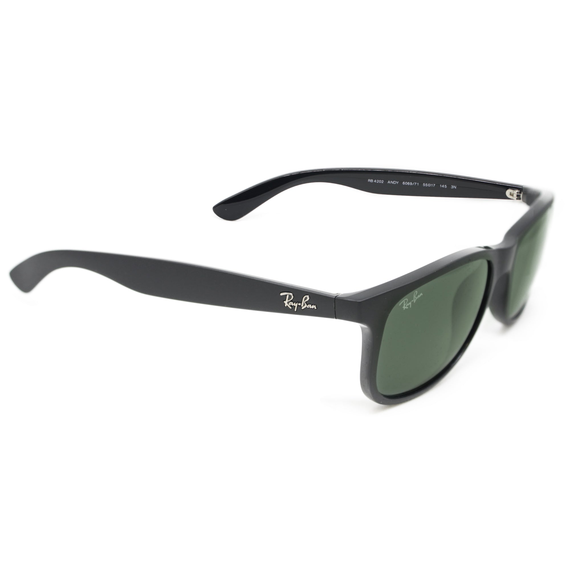aa90cbc863 Ray-Ban ANDY 4202 CLASSIC UNISEX - BLACK - GREEN 606971-55 ...