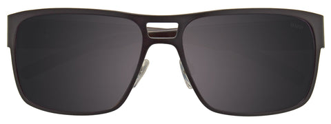 OAKLEY ELMONT - 004119 07 58 SATIN CHROME - SAPPHIRE IRIDIUM POLARIZED - AL