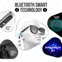 Bluetooth audio sunglasses for hands-free talk and music; for Women. (MODEL A)