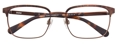 BMW M1004-90 Eyeglasses Men Acetate - Satin Black/Red