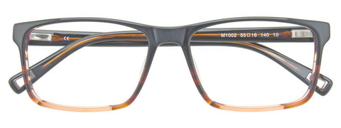 BMW B6030 Eyeglasses Men Stainless Semi Rim