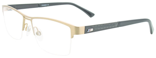 BMW M1006 Eyeglasses Men Titanium/Semi Rim