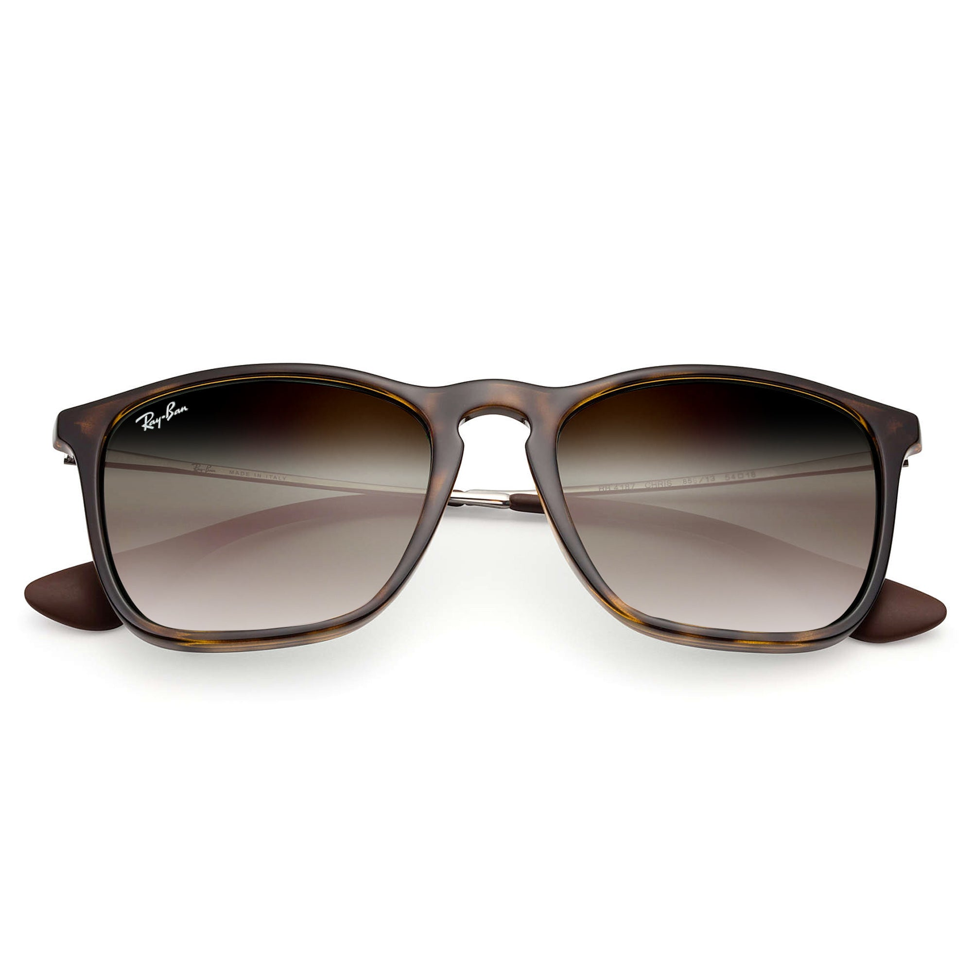 71863826be Ray-Ban CHRIS 4187 NEW! UNISEX - TORTOISE - BROWN GRADIENT 856-13-54 ...
