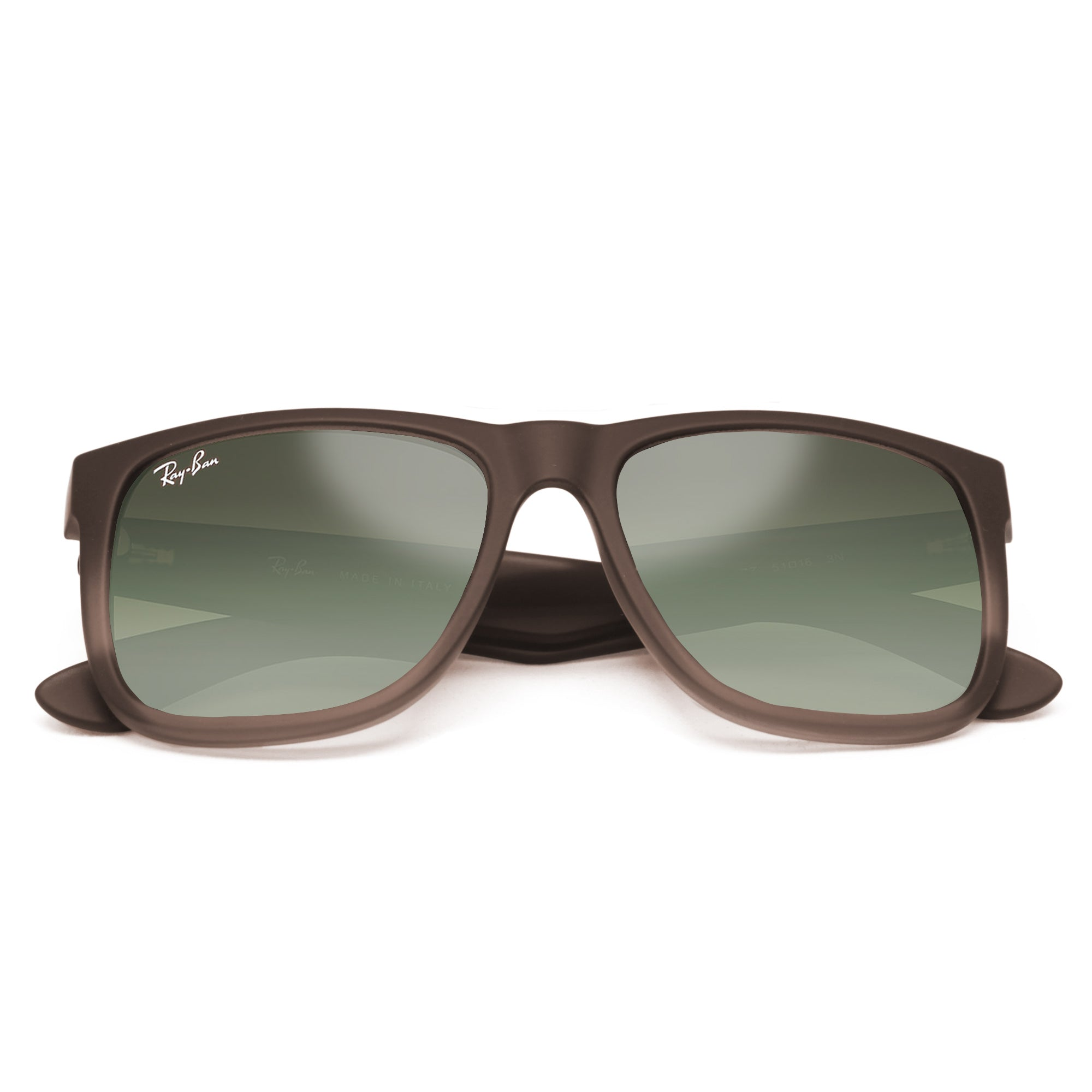 4f643a4215e Ray-Ban 4165 JUSTIN CLASSIC UNISEX BROWN- GREEN GRADIENT 854-7Z-55 ...