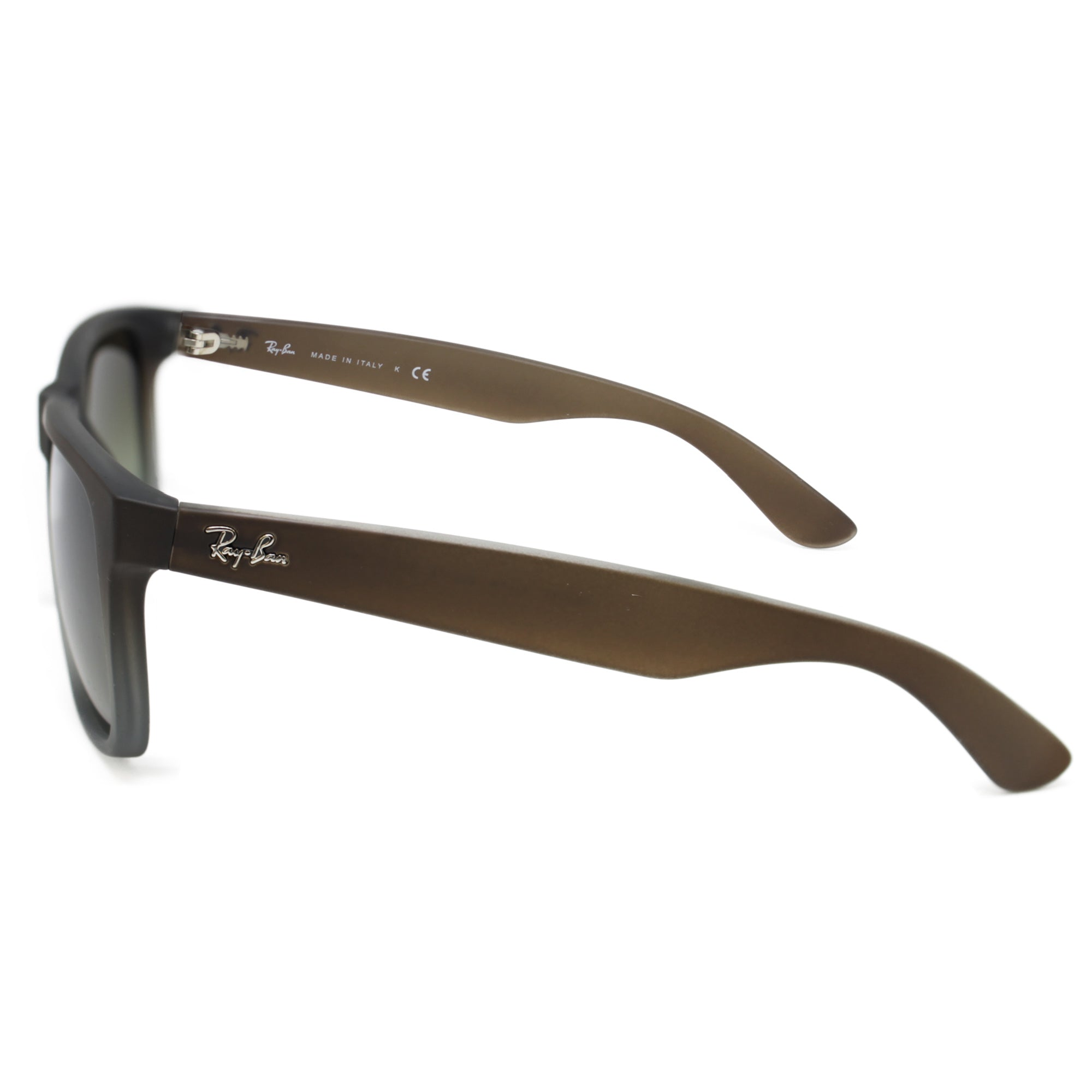 6702179ea1fe Ray-Ban 4165 JUSTIN CLASSIC UNISEX BROWN- GREEN GRADIENT 854-7Z-55 ...