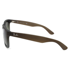 Ray-Ban 4165 JUSTIN CLASSIC UNISEX BROWN- GREEN GRADIENT 854-7Z-55