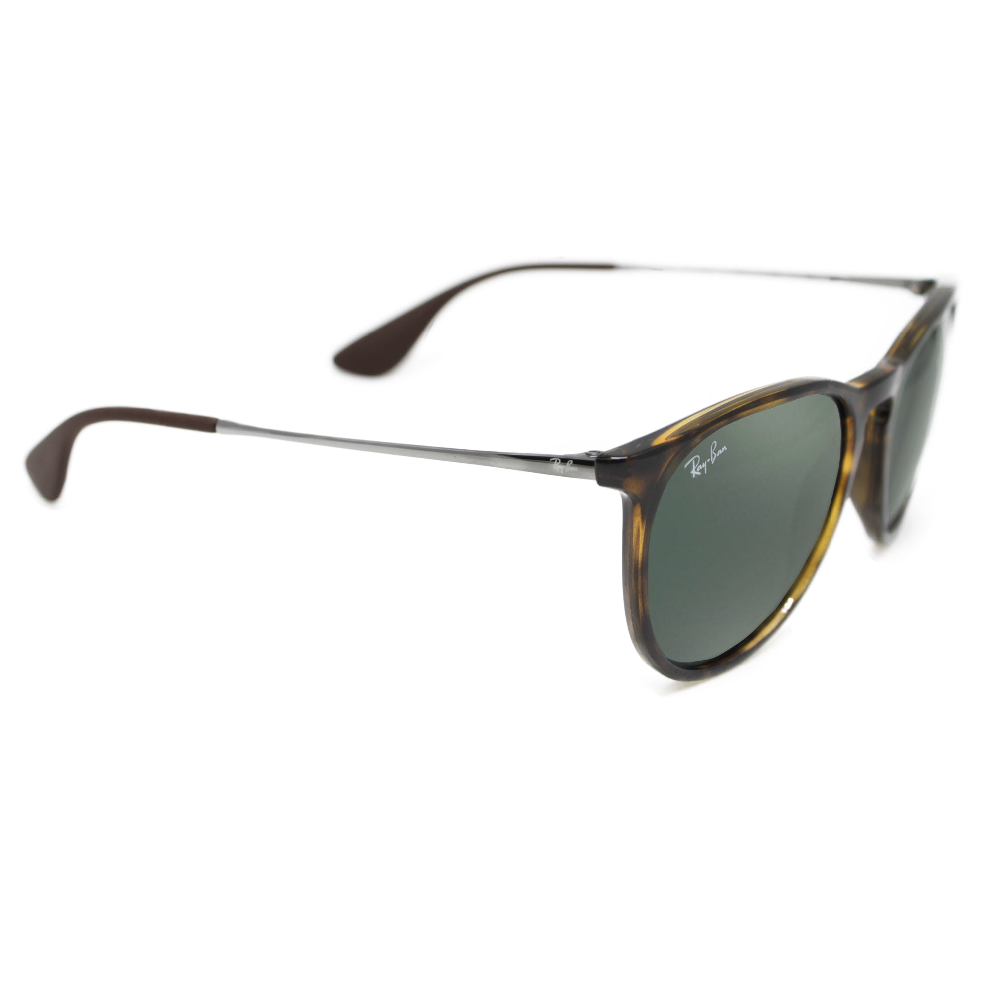 0ab70beef36 Ray-Ban ERIKA 4171 UNISEX - BLACK - DARK GREEN 710-71-54 ...