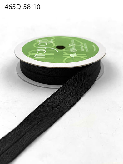 "BLACK 5/8"" Elastic- 12 ft."