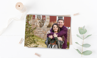 Have and Hold Save The Date Magnet