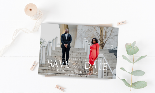Two Hot Save The Date Magnet
