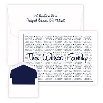 Anthony Family Pride Oversized Note