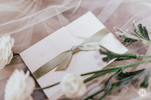 Earthy Wrapped Invitation