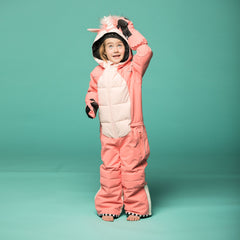 Wee Doo Unicorn Snowsuit & Mitts - The Cardrona Online Store