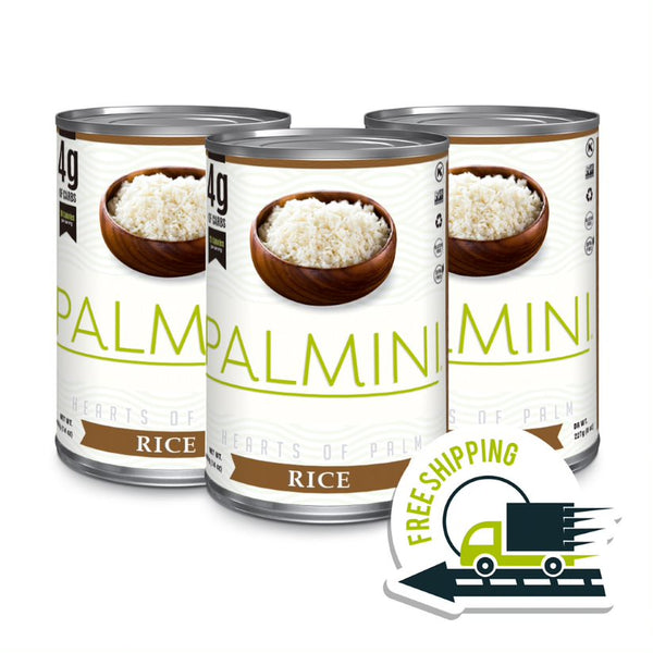Palmini Low Carb RICE (3 pack case)