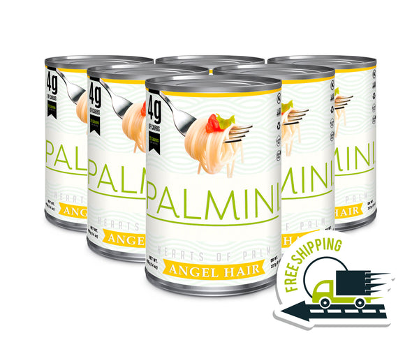 Palmini Angel Hair | 6 Unit Case | 14 Oz. Net|