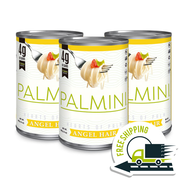 Palmini Angel Hair | 3 Unit Case | 14 Oz. Net|